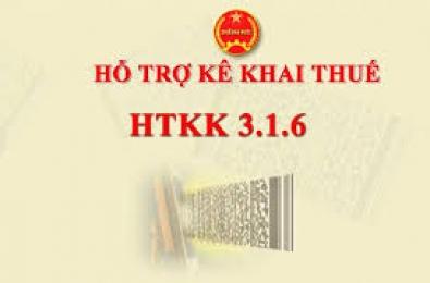 Nâng cấp HTKK 3.1.6