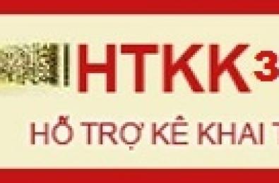 Barcode tax declaration support application (HTKK 3.3.0)