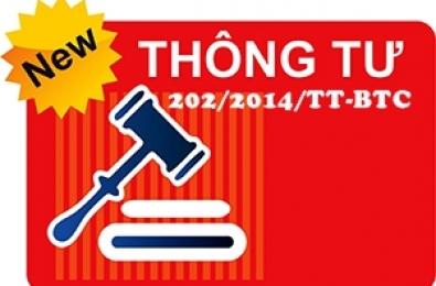 Tải thông tư 202/2014/TT-BTC, HD lập và trình bày BC Tài Chính hợp nhất