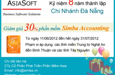 Kỷ niệm 8 năm thành lập Chi Nhánh Đà Nẵng (08/06/2012)