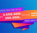 Gift voucher 250 000d for customer when buy A-INVOICE e-bill and voucher 2 500 000 d when customer buy Simba 171 software on occasion 30/04-01/05/2020