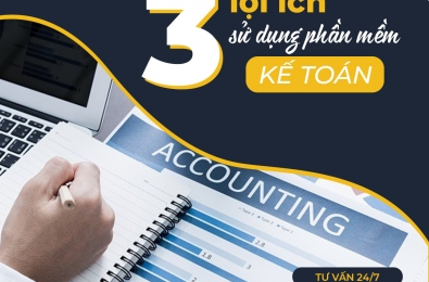 3 Clear benefits of accounting software in the business
