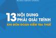 13 Nội dung bắt buộc phải giải trình khi đón tiếp đoàn kiểm tra thuế