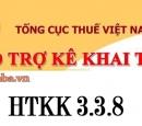 HTKK 3.3.8