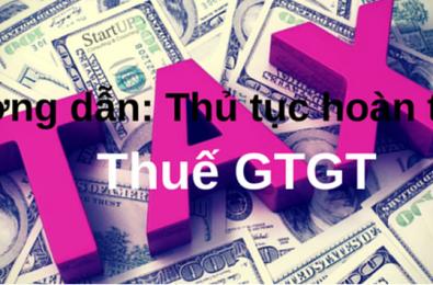 Thông tư hướng dẫn quản lý hoàn thuế GTGT