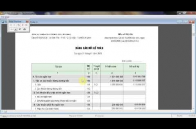 Simba software manuals: Transfer to the closing report
