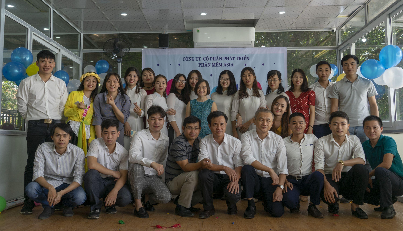 tập thể nhân viên Asiasoft